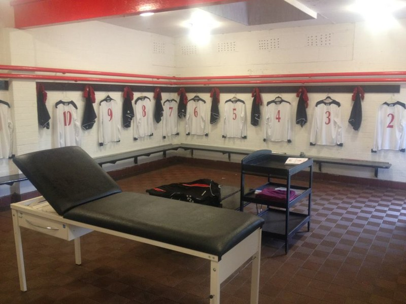 The Home Dressing Room At The North Field